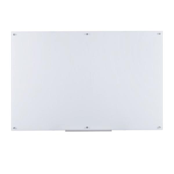 Eddington 39 in. x 59 in. Glass Dry Erase Board in White