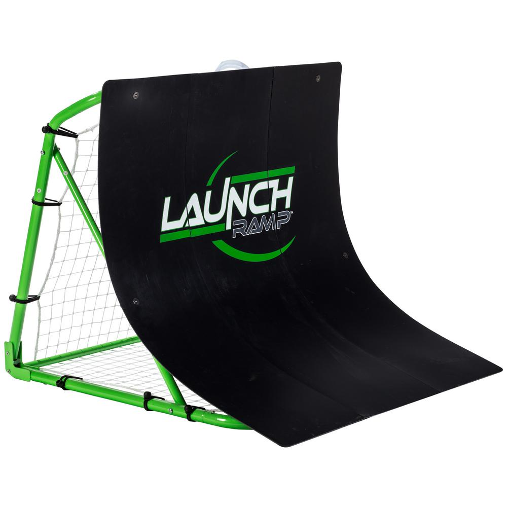 Franklin Sports Launch Ramp Soccer Trainer Developed to help soccer players improve passing and receiving the ball. Versatile design perfect for on field and backyard practice. The patented design and true-roll rebound gives players the consistent reps to master their first touch on the ball.