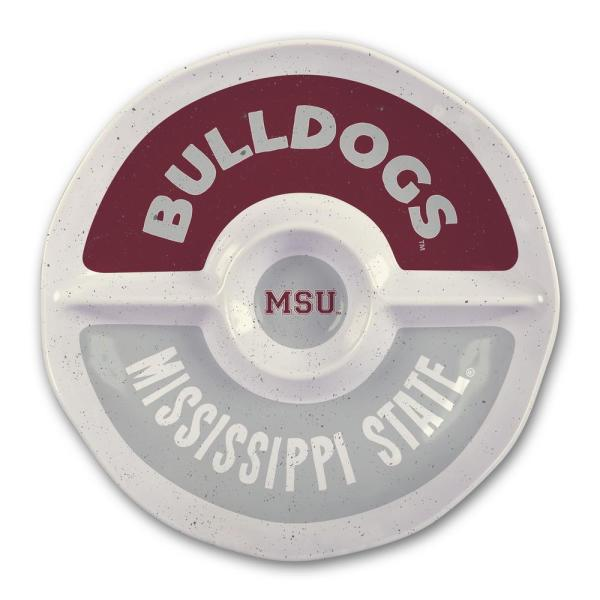 Magnolia Lane Mississippi State 15 in. Chip and Dip Server