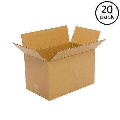 20 in. x 16 in. x 14 in. Multi-depth 20 Moving-Box Bundle