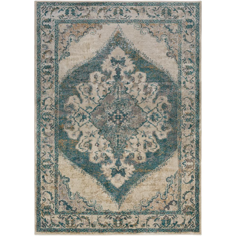 Artistic Weavers Alexios Teal 8 Ft X 10 Ft Indoor Area Rug
