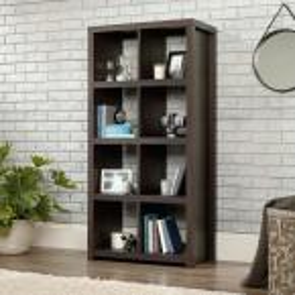 undefined HomeVisions Dakota Oak 8-Cube Bookcase