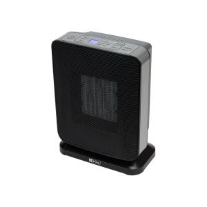 King Electric 1500-Watt Ceramic Electronic Portable Heater with GFCI Plug Black by King Electric