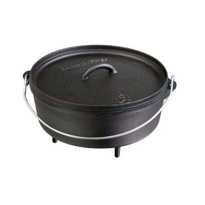 Classic Preseasoned Cast Iron 12 in. Dutch Oven