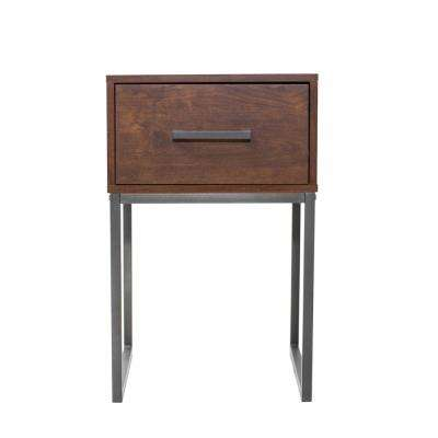 Lincoln 1-Drawer Reclaimed Cherry Nightstand