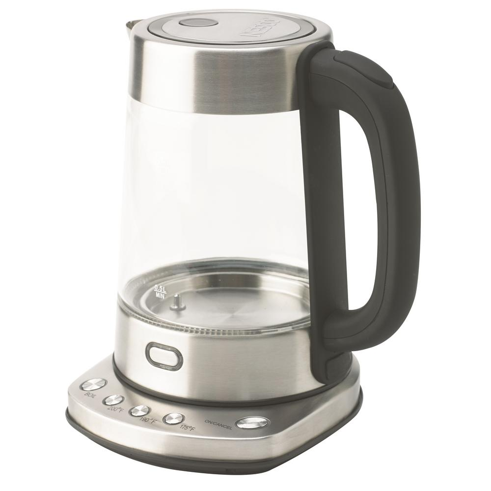 Nesco 7-Cup Electric Glass Water Kettle
