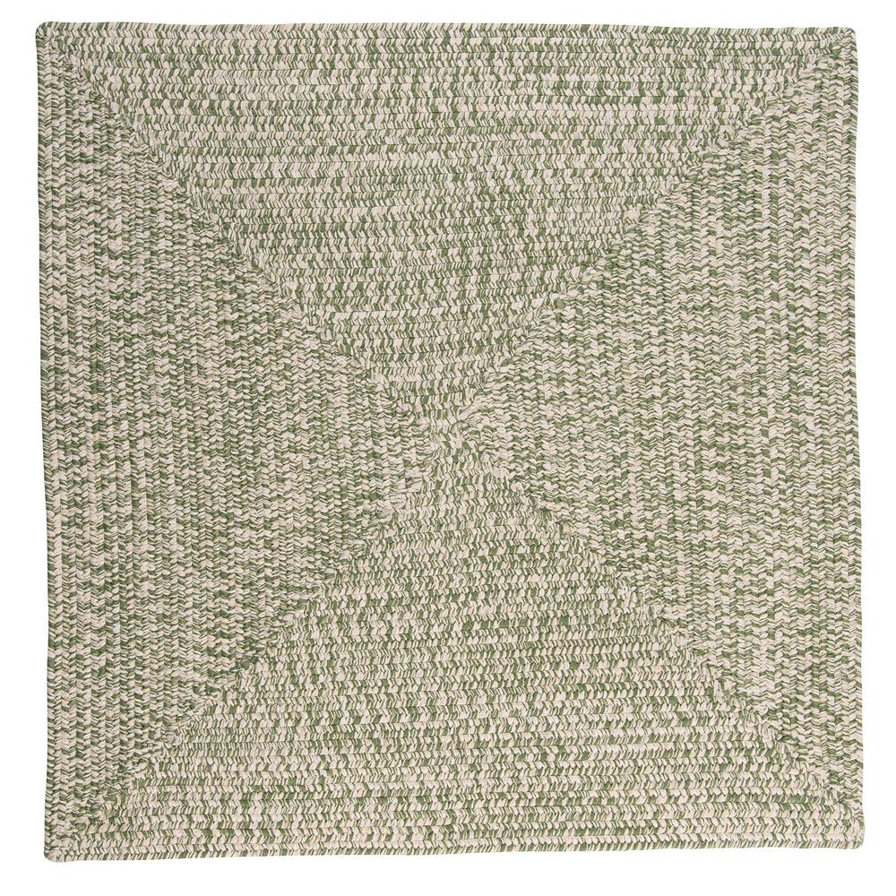 Home Decorators Collection Marilyn Tweed Moss 12 Ft X Square Braided Rug