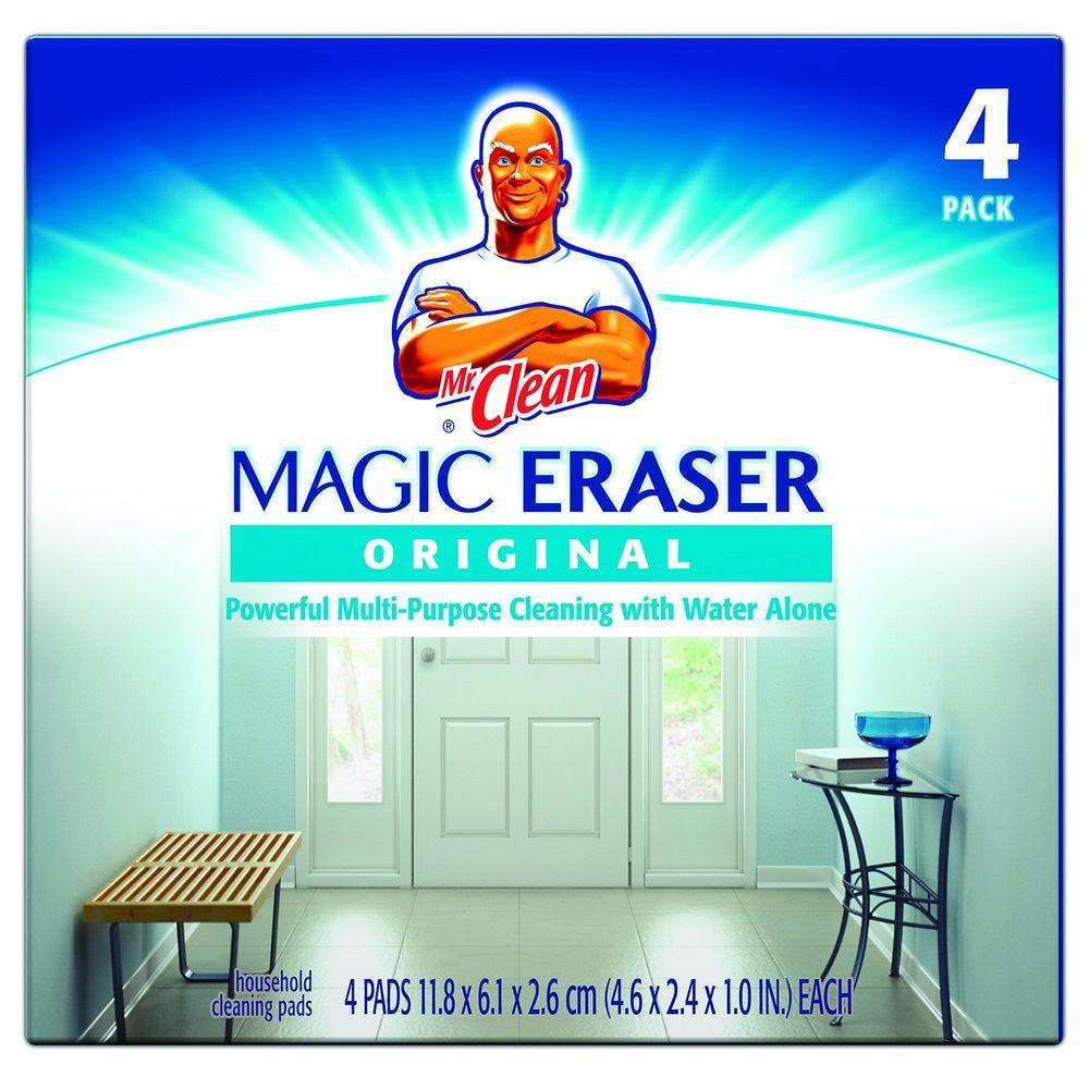 Mr. Clean 4-3/5 in. x 2-2/5 in. Magic Eraser Original