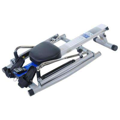 Orbital Rower with Free Motion Arms