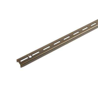 36 in. Bronze Single Track Wall Standard