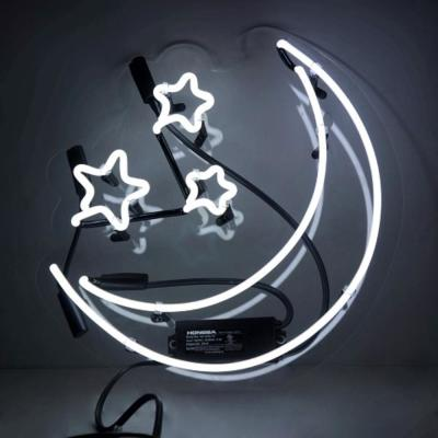 Oliver Gal 'Moon and Stars' Plug-in Neon Lighted Sign