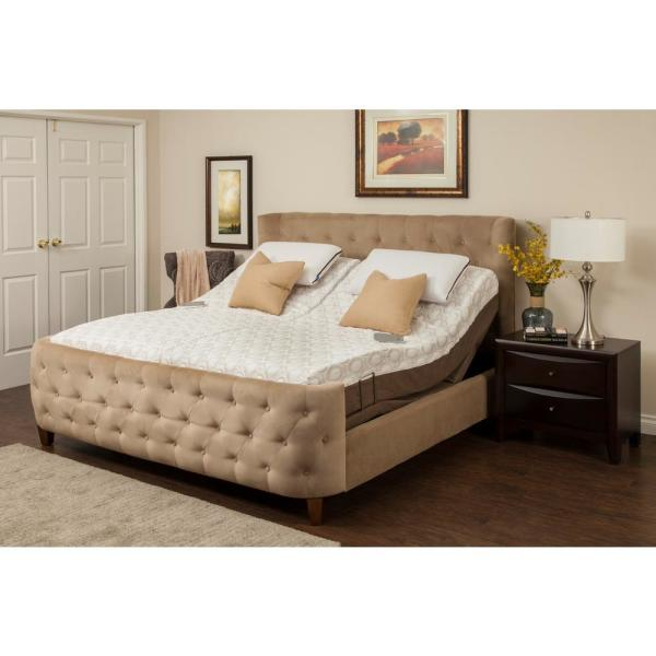 Dahlia Split King Memory Foam Mattress