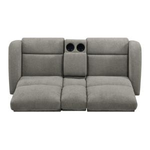Sensational Prolounger Warm Gray Chenille 2 Seat Recliner Loveseat With Gamerscity Chair Design For Home Gamerscityorg