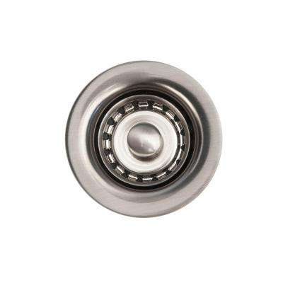 2 in. Bar Basket Strainer Drain, Brushed Nickel