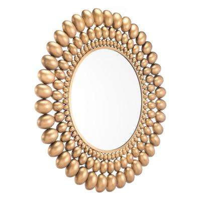 Inha Gold Wall Mirror