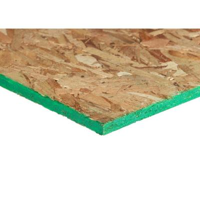 7/16 in. x 4 ft. x 9 ft. Spruce Square Edge Oriented Strand Board