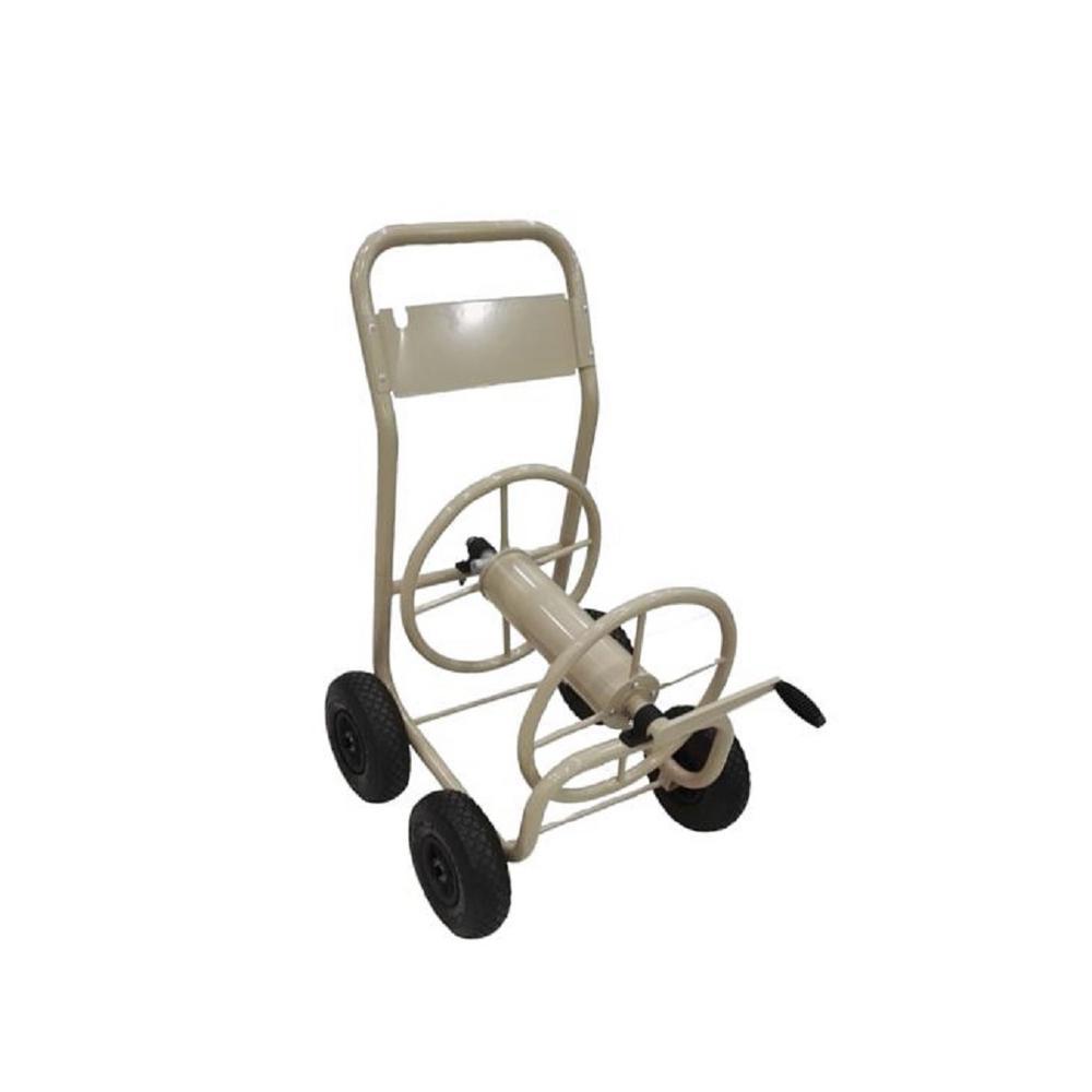 Hampton Bay 4-Wheel Hose Reel Cart by Hampton Bay