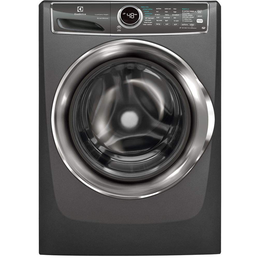 Electrolux 4.4 cu. ft. Front Load Washer with SmartBoost Technology Steam in Titanium, ENERGY STAR