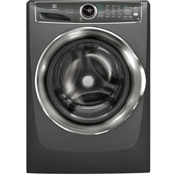 Electrolux Perfect Steam EFLS627UTT - Washing machine - freestanding - width: 27 in - depth: 31.5 in - height: 53 in - front loading - 4.4 cu. ft - 1300 rpm - titanium
