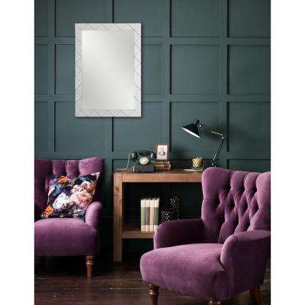 30 in. x 22 in. Isos Framed Wall Mirror