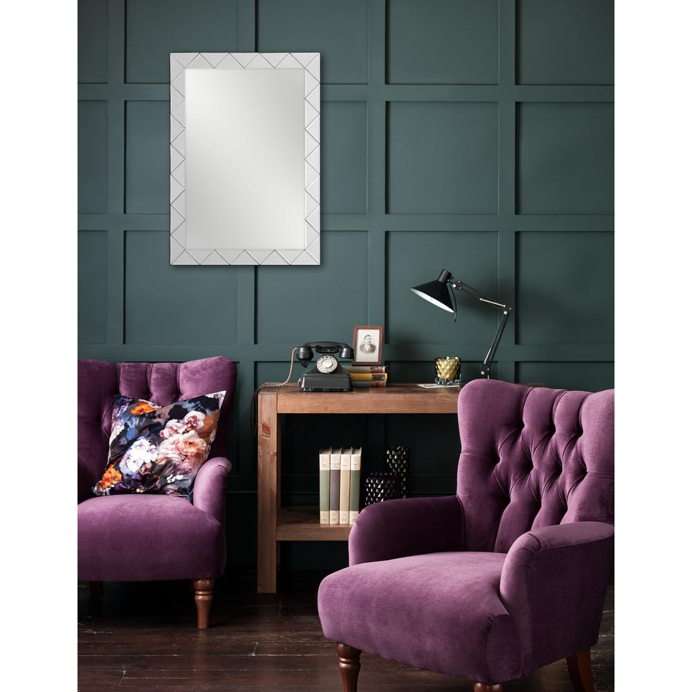 30 in. x 22 in. Isos Framed Wall Mirror