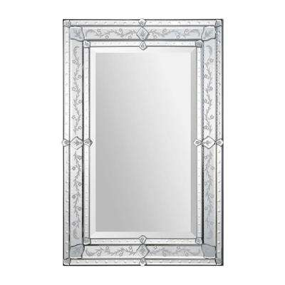 Vincenzo 36 in. H x 24 in. W Vertical Mirror