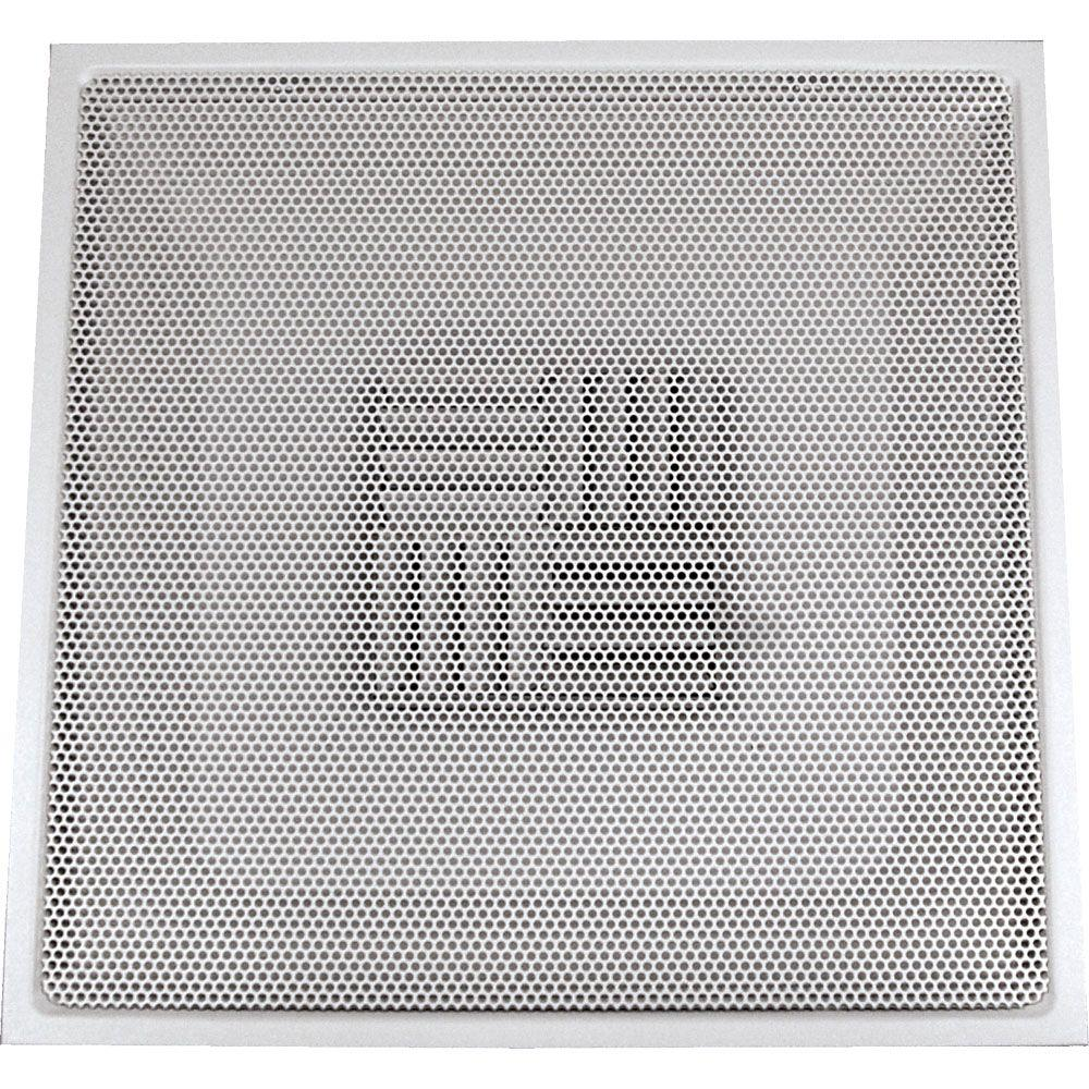 speedi-grille 24 in. x 24 in. drop ceiling t-bar perforated face