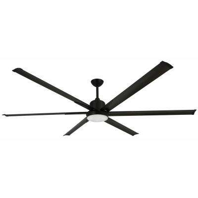 Titan 84 in. Indoor/Outdoor Oil-Rubbed Bronze Ceiling Fan and Light