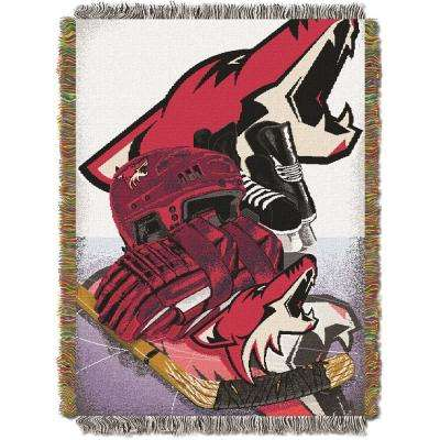 Coyotes Multi Color HIA Tapestry Throw