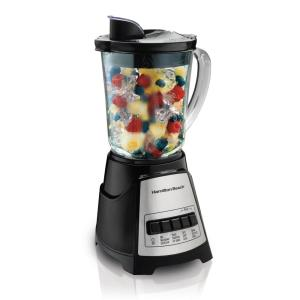 Power Elite 40 oz. 12-Speed Black Blender