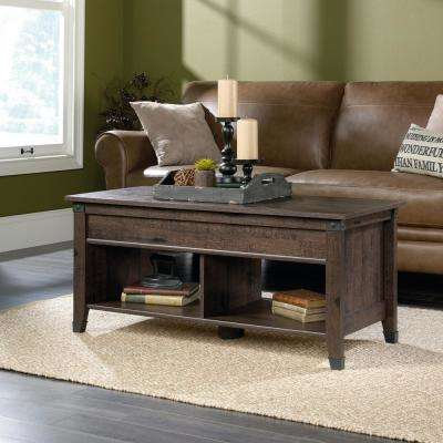 Carson Forge Coffee Oak Extendable Coffee Table