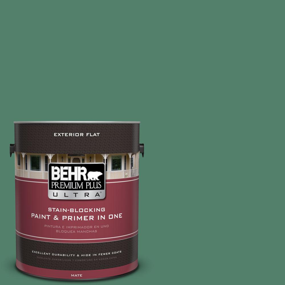 1-gal. #M430-6 Park Bench Flat Exterior Paint