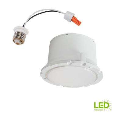 5 in. and 6 in. White Integrated LED Recessed Trim Module