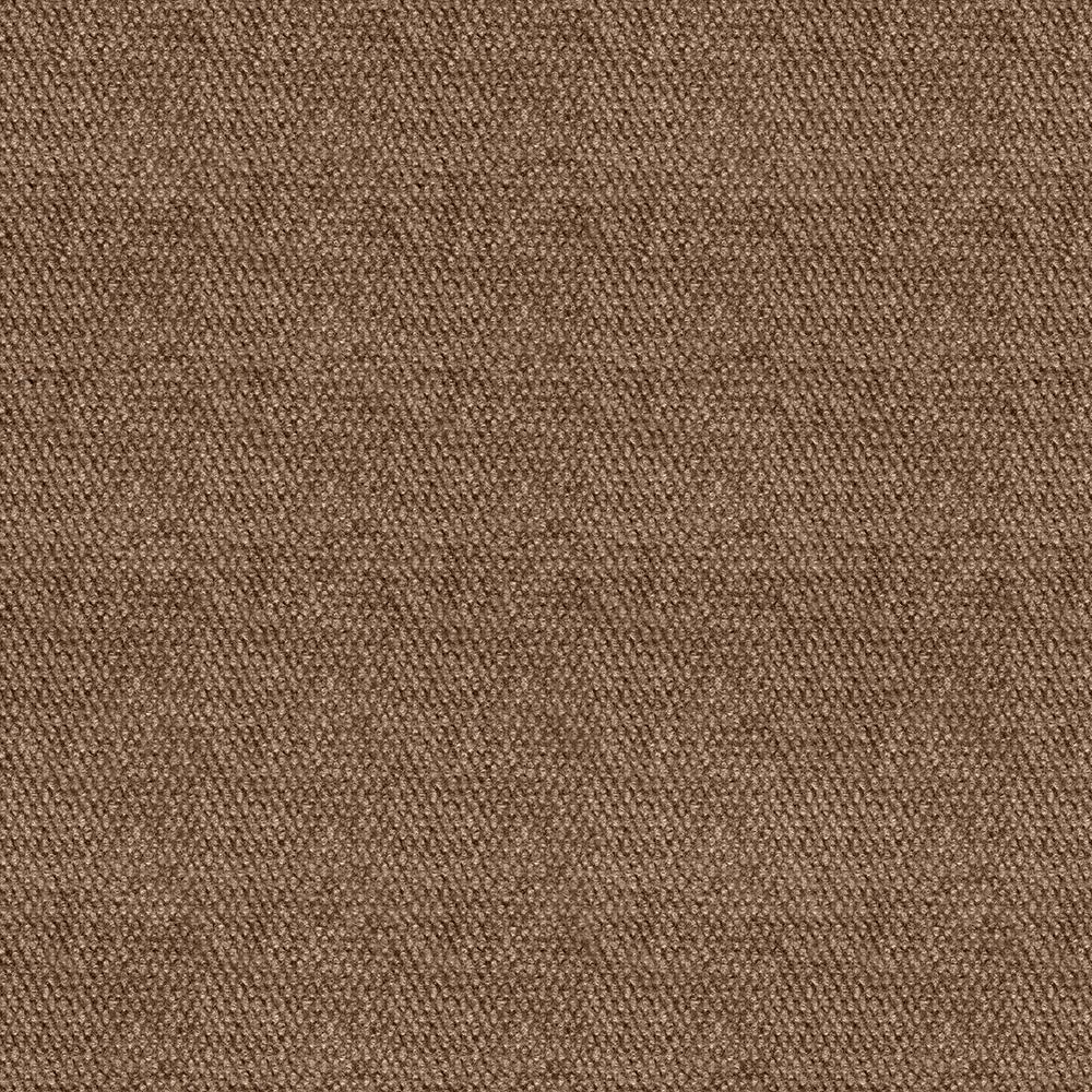 Design Smart Chestnut Hobnail Texture 18 in. x 18 in. Indoor/Outdoor Carpet Tile (10 Tiles/22.5 sq. ft./case)