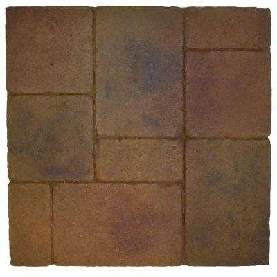 Monterey Chardonnay 18 in. x 18 in. Thin Overlay Paver (4-Pieces/9 sq. ft. per Box)