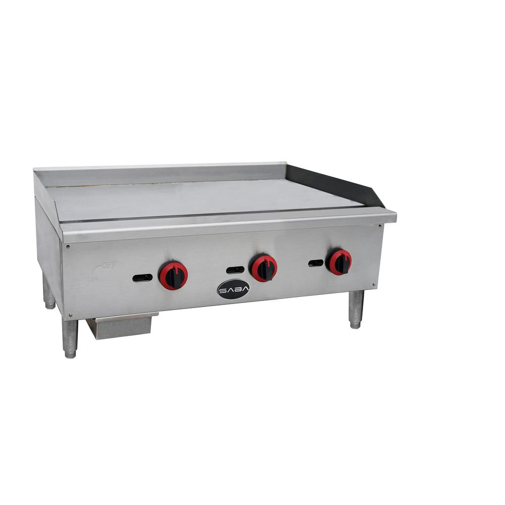 Commercial Griddle Gas Cooktop