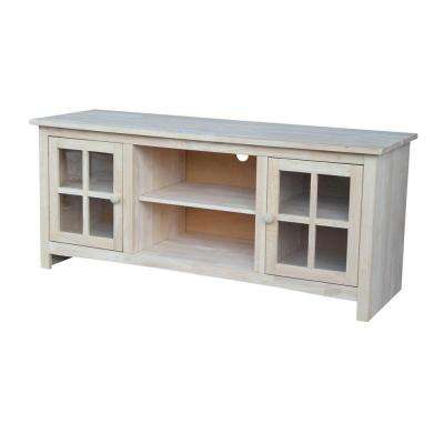 Franklin Unfinished Entertainment Center