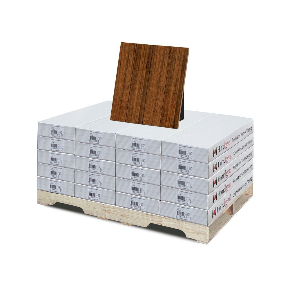Home Legend Strand Woven Toast 3/8 in. T x 3-3/4 in. W x 36 in. L Click Lock Bamboo Flooring (453.8 sq. ft. / pallet)-DISCONTINUED