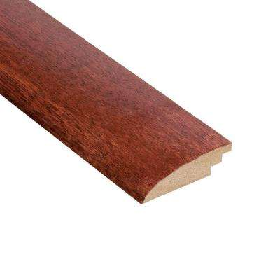 High Gloss Santos Mahogany 3/8 in. Thick x 2 in. Wide x 47 in. Length Hardwood Hard Surface Reducer Molding