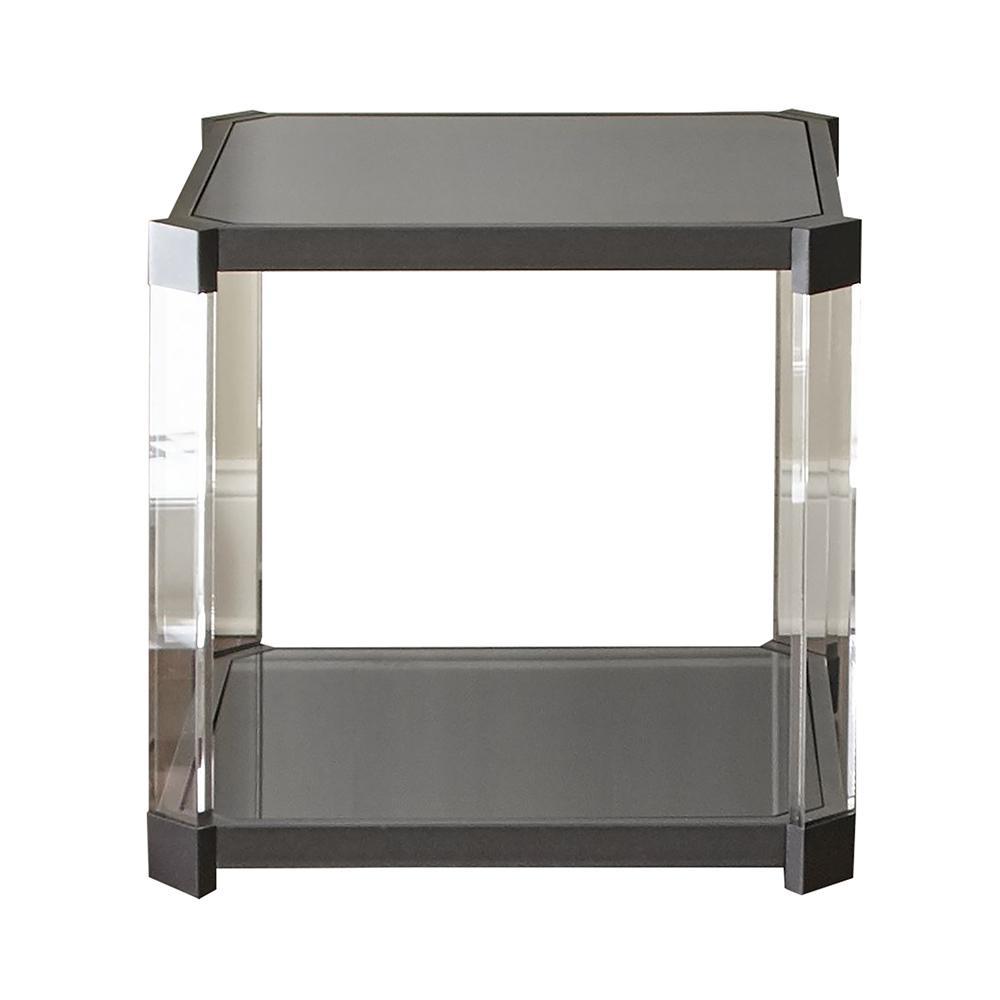 Newton Black End Table