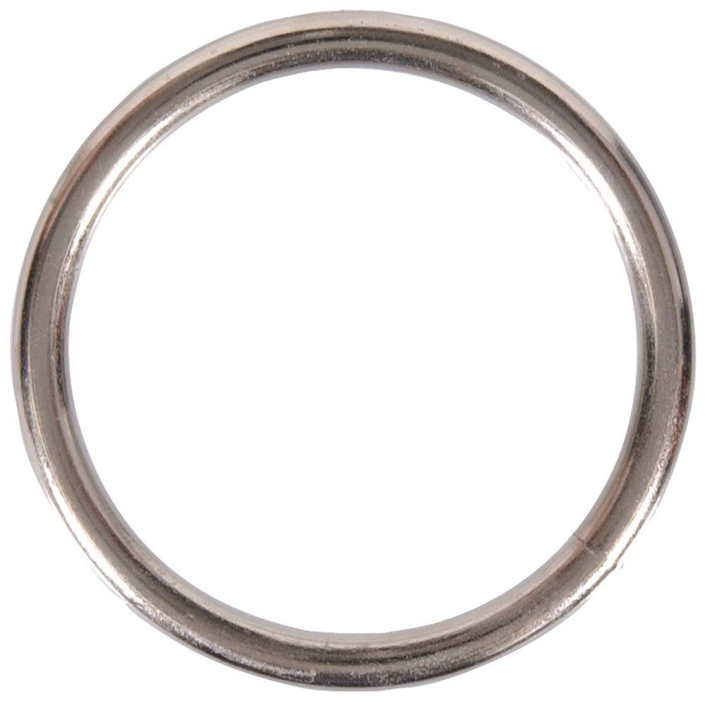 "3//4/"" Non Welded D Ring Nickel Plated 10 Pack"