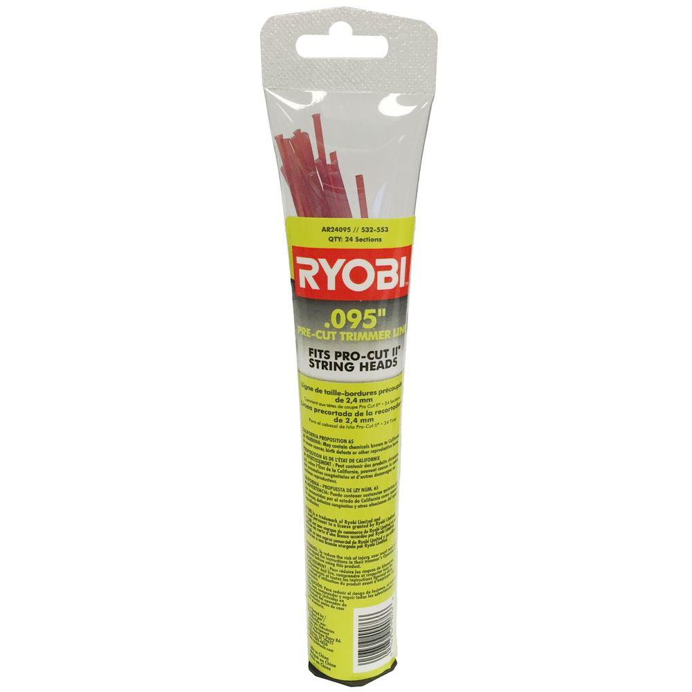 RYOBI 0.095 in. Pro Cut II Replacement Trimmer Line