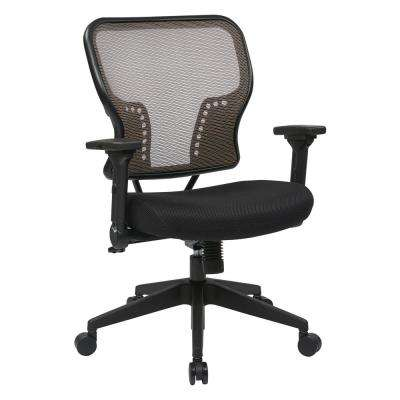 Latte Air Grid Latte Mesh Back and Padded Mesh Seat Chair