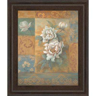 """22 in. x 26 in. """"Pam's Poppies"""" by Vivian Flasch Framed Printed Wall Art"""