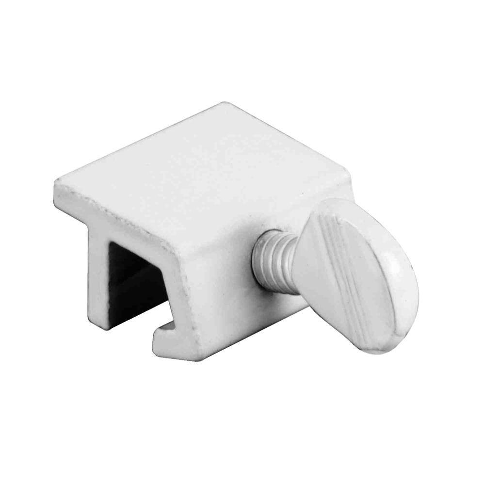 Prime-Line Aluminum Secondary Window Sash Lock (4-Pack)