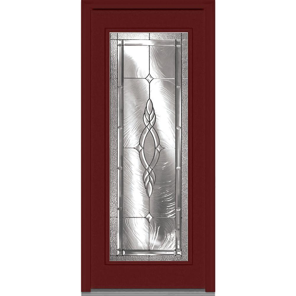 32 In. X 80 In. Brentwood Right Hand Full Lite Classic Painted