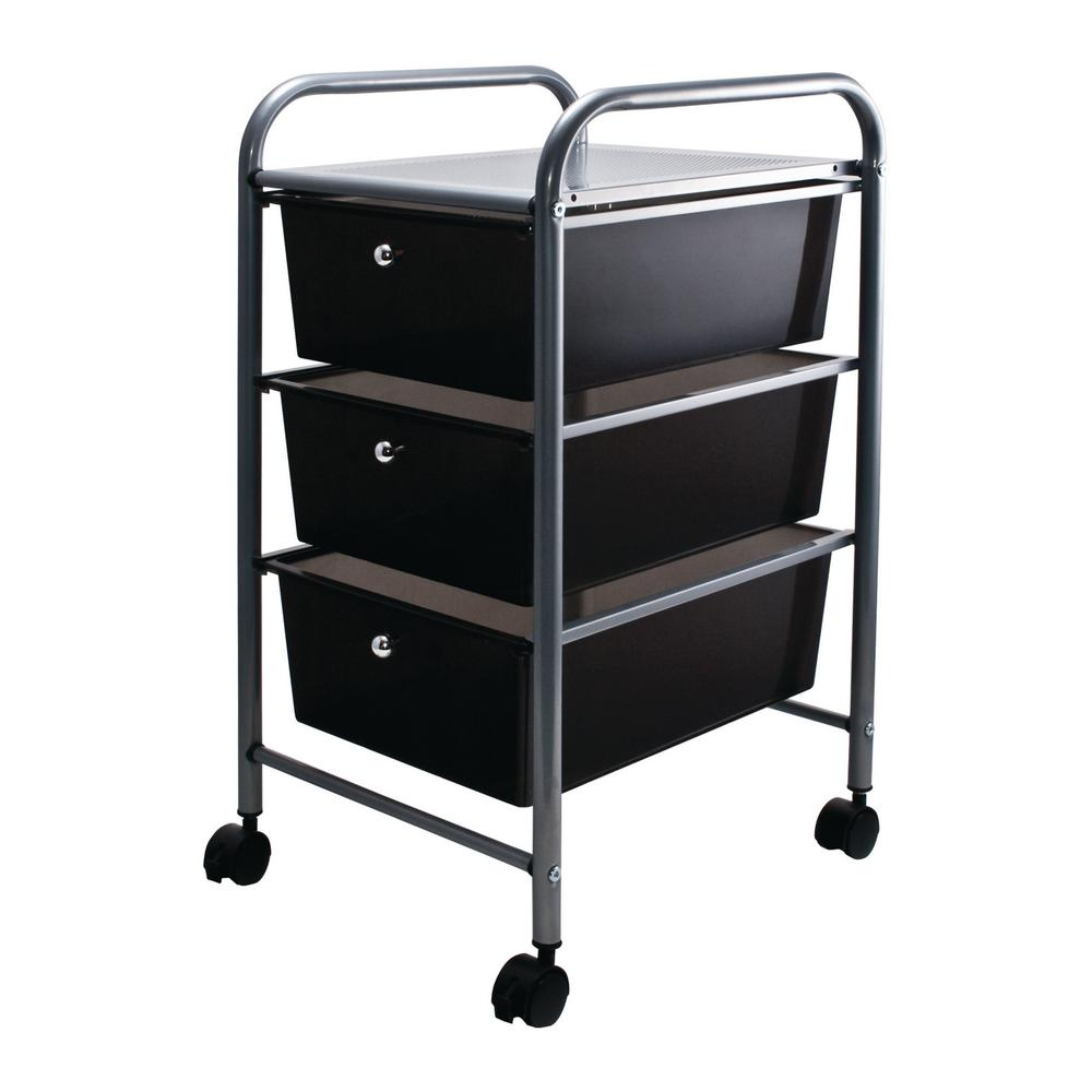 Sterilite 21 88 In 3 Drawer Wide Cart 1 Pack 29309001