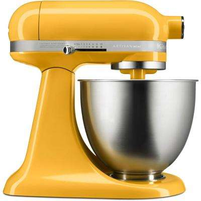 Artisan Mini 3.5-Qt. Tilt-Head Orange Sorbet Stand Mixer