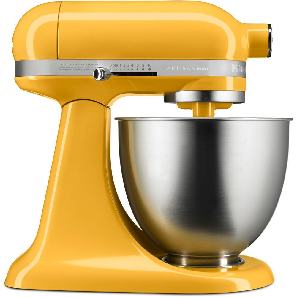 Artisan Mini 3.5 Qt. 10-Speed Tilt-Head Orange Sorbet Stand Mixer