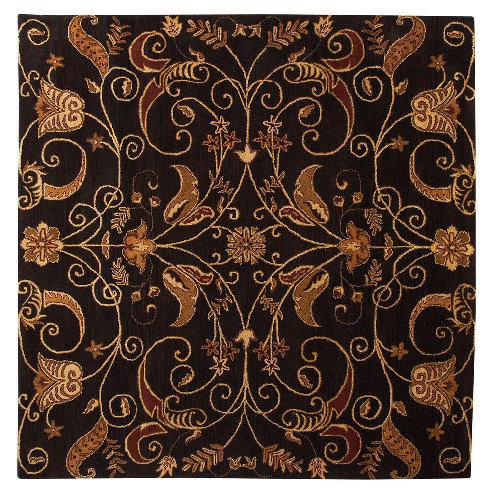 Home Decorators Collection Ansley Brown 7 ft. 9 in. Square Area Rug